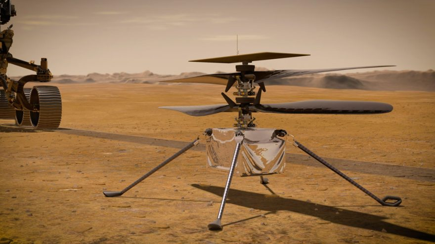 NASA Mars helicopter successfully flew 100 meters back and forth in 80 seconds for the third flight